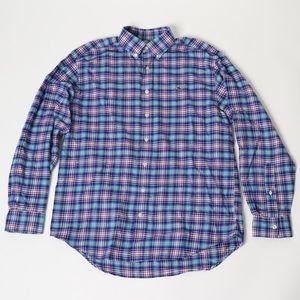 Vineyard Vines Flannel Button Down - M
